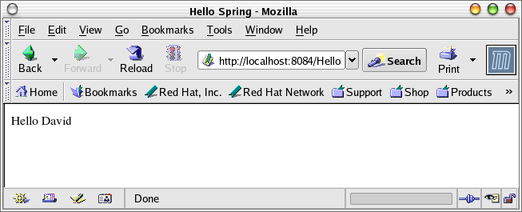 Creating a Simple Spring MVC Web App With NetBeans 5 0